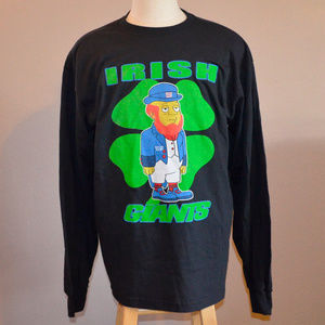 "Other - New York ""irish"" Giants Long Sleeve L NFL Large"